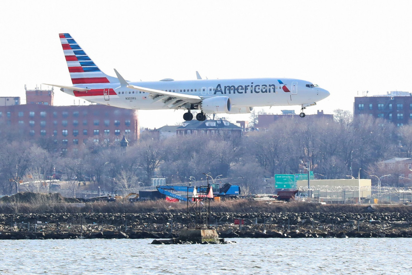 US screened over 1 million airline passengers Sunday for first time since March