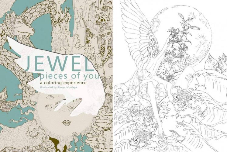 Artist Atreyu Moniaga, singer Jewel join hands for coloring book