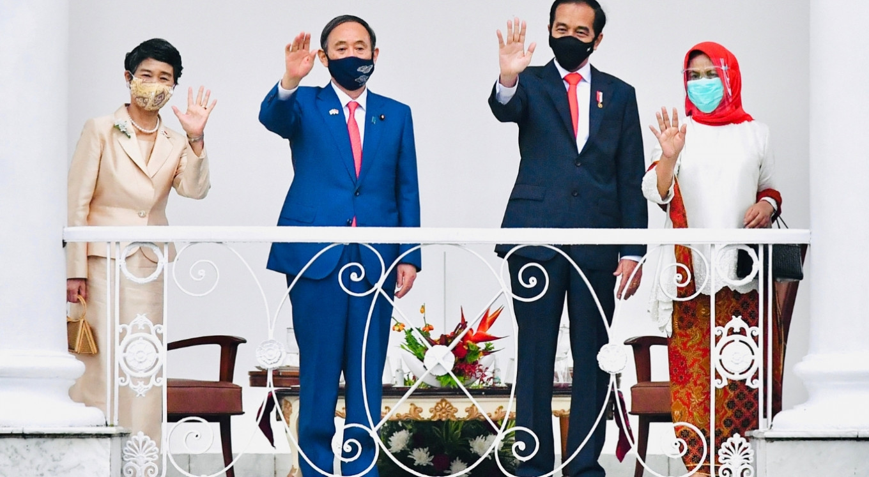 Japanese PM Suga visits Indonesia