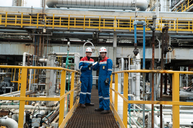 Utilizing local resources:  Pertamina seeks to improve petrochemical products and develop domestic resources, including biofuels like crude palm oil.