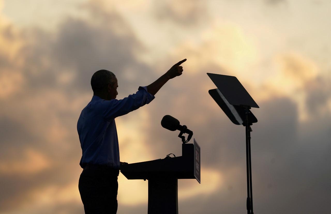 Barack Obama slams Trump in Biden campaign speech
