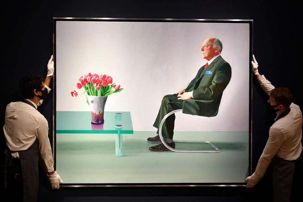 David Hockney work sold by Royal Opera House fetches £12.9 million