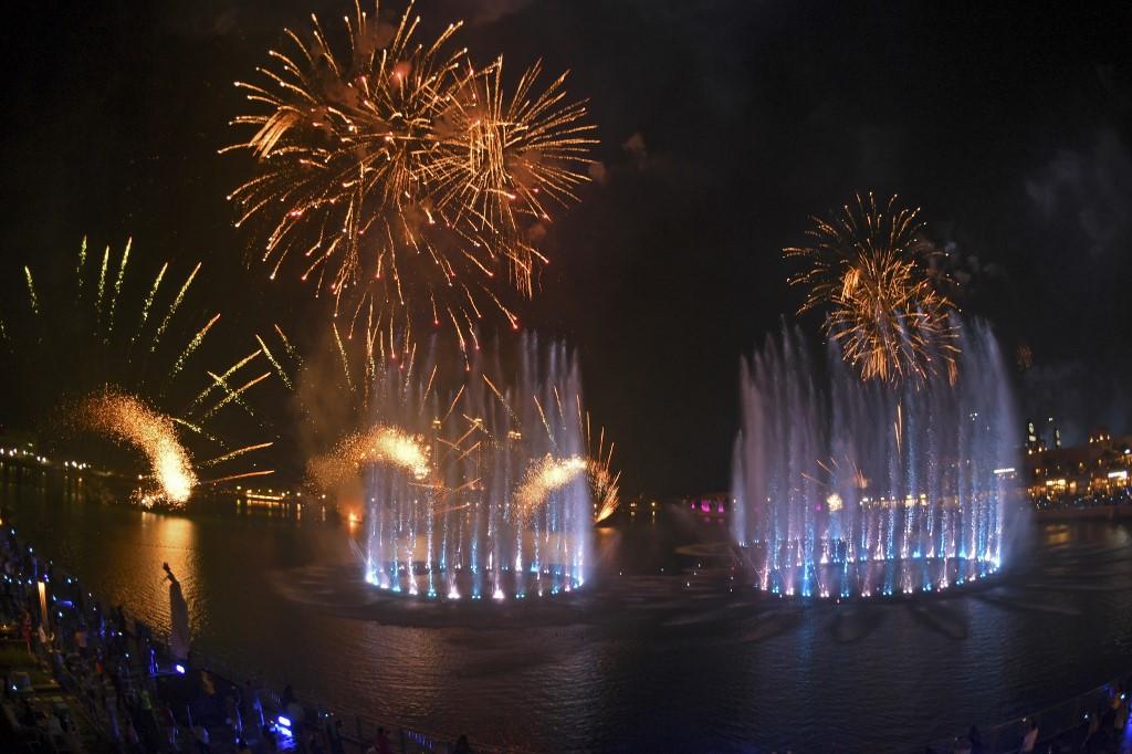 Dubai breaks world record for largest fountain