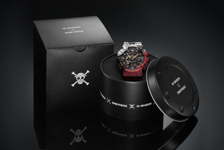 Limited-edition G-SHOCK x One Piece to be available in Indonesia