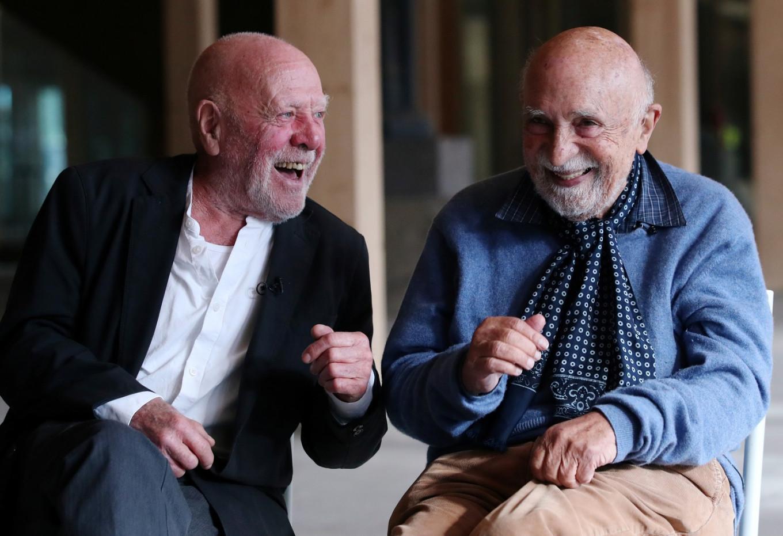 Holocaust survivor and Nazi sympathizer's son forge friendship in Belgium
