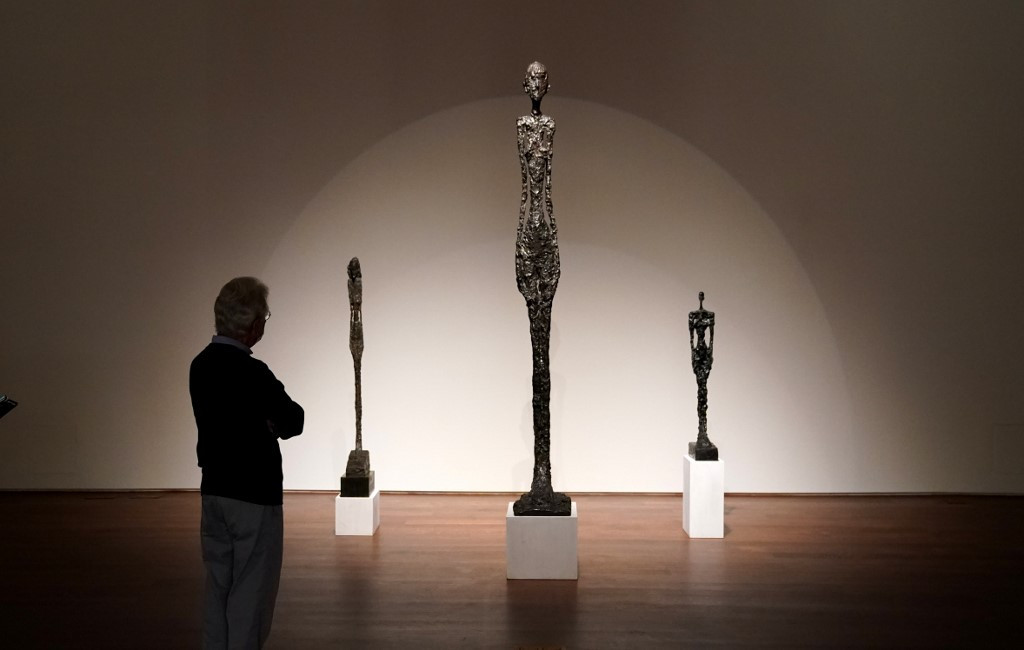 Giacometti sculpture in sealed bid auction, starting price $90 million