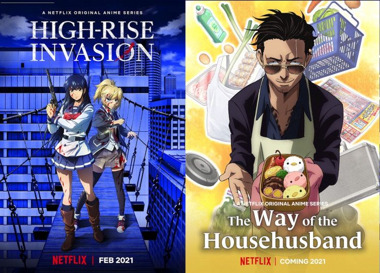 Eclectic mix: Netflix Anime Festival 2020 offers never-before-seen stories for the global anime community to choose from.