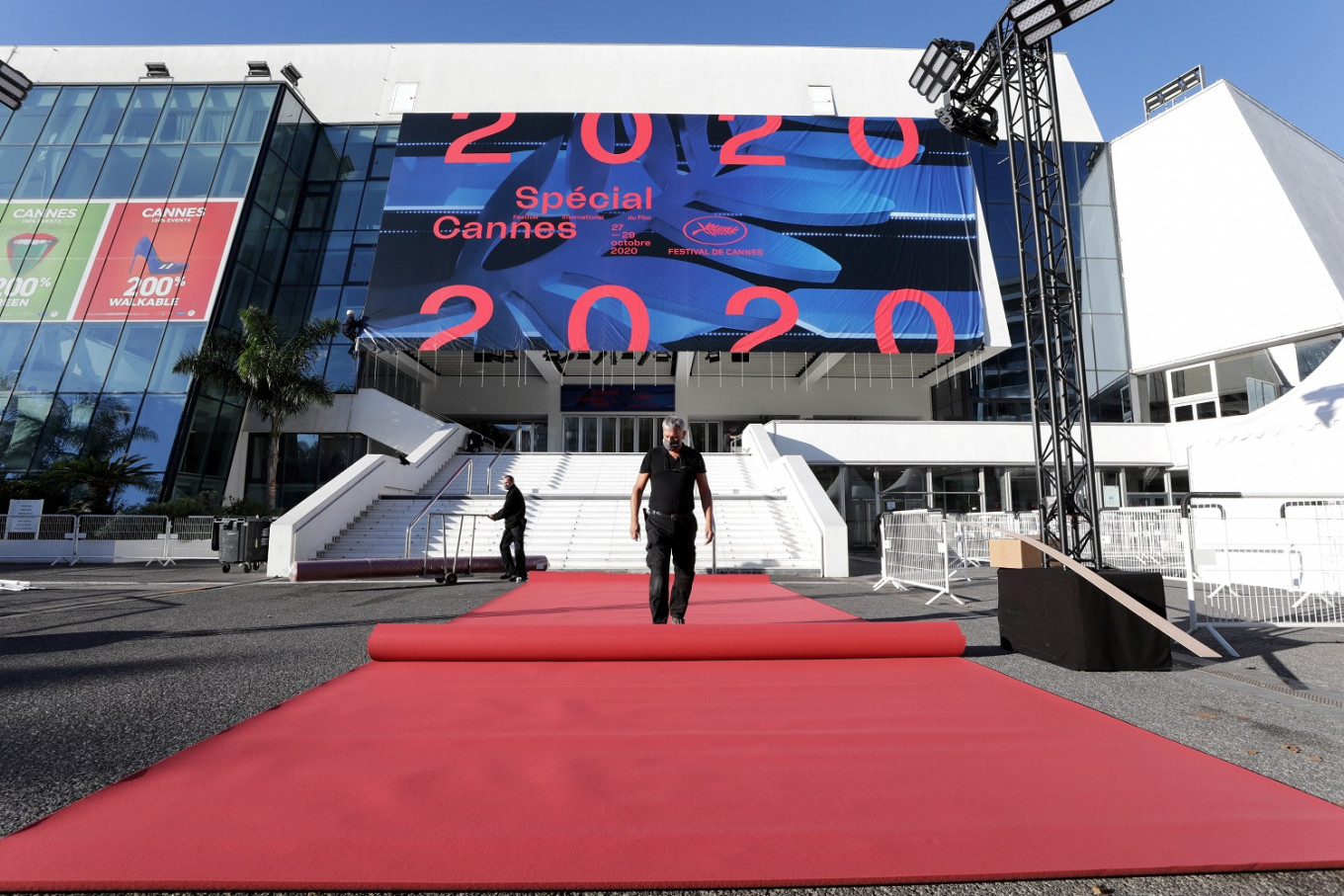 Cannes rolls out red carpet for pared-back film showcase