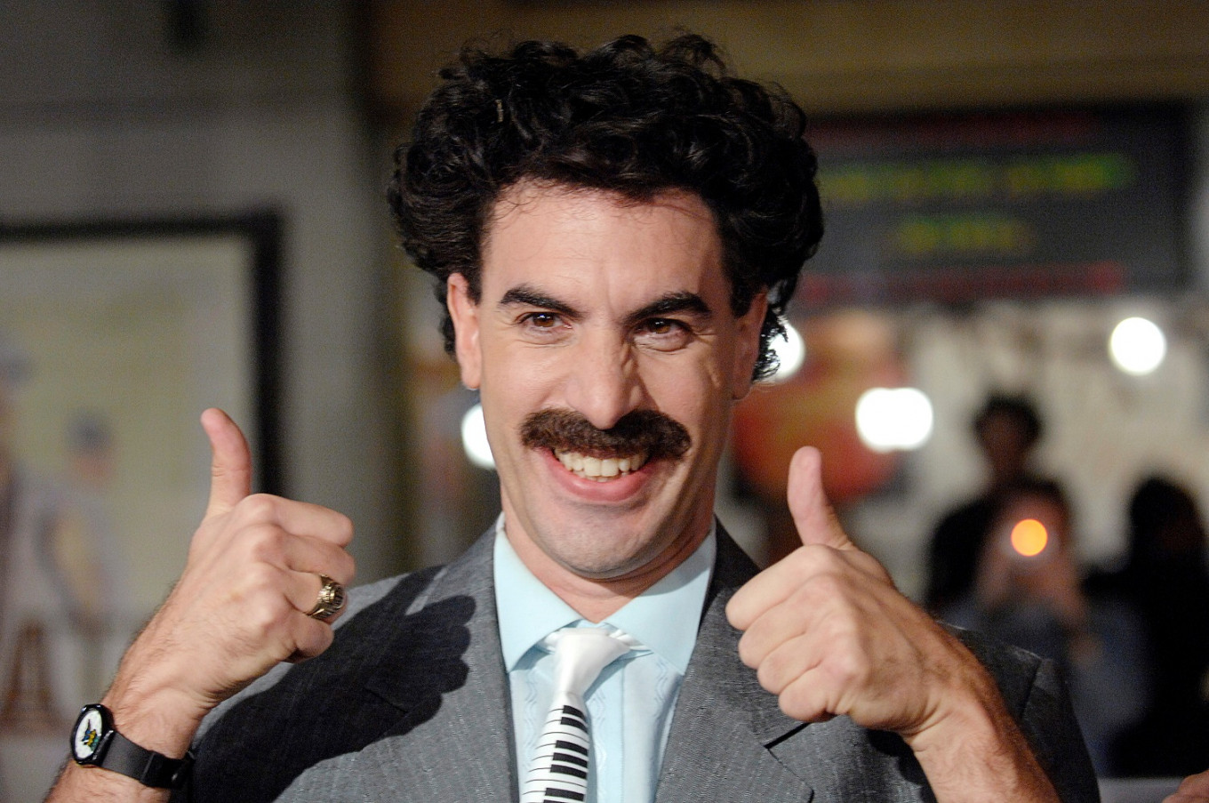 Looks Like Kazakhstan Has Finally Embraced Borat