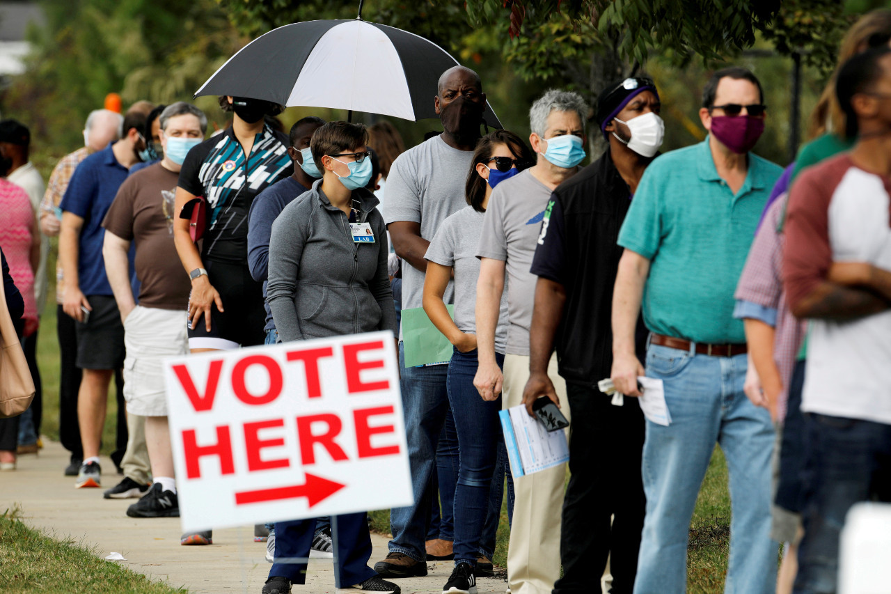 Record-breaking early voting in US election tops 80 million