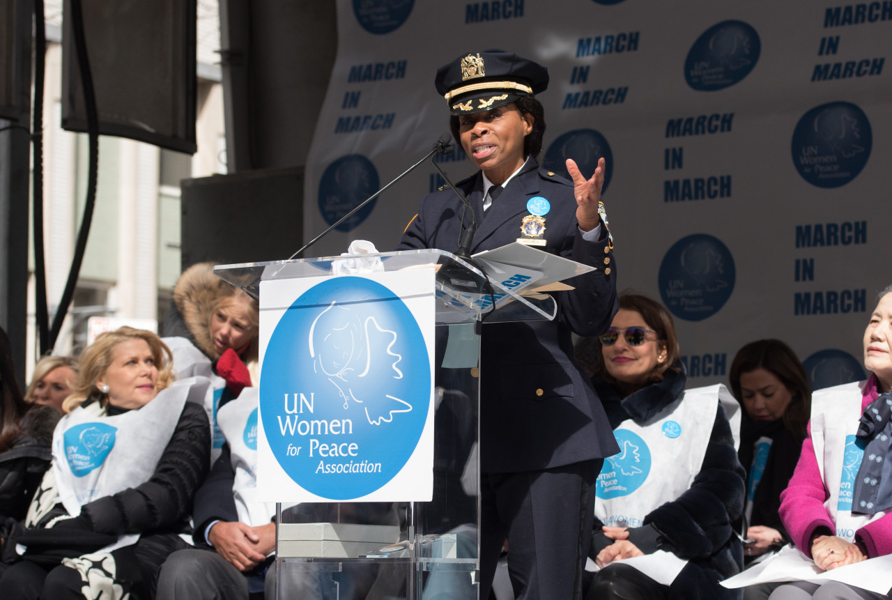 New York promotes first Black woman to key police post