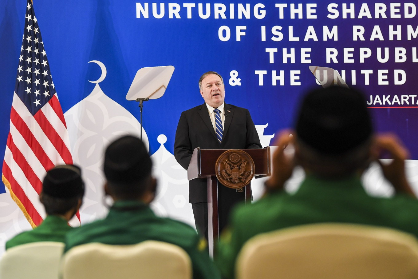 Pompeo calls on Indonesian Muslims to oppose China's Uighur issue