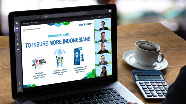 Allianz Eyes Hundreds Of Thousands Of Gopay Users In New Partnership Business The Jakarta Post