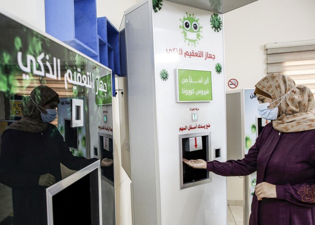 'Made-in-Gaza' device fights coronavirus spread