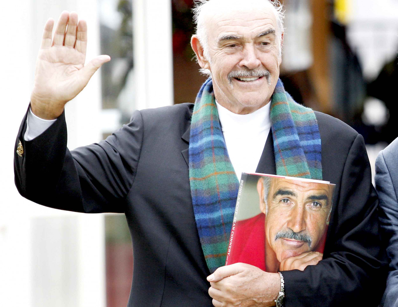 Sean Connery, film superstar who defined Bond role