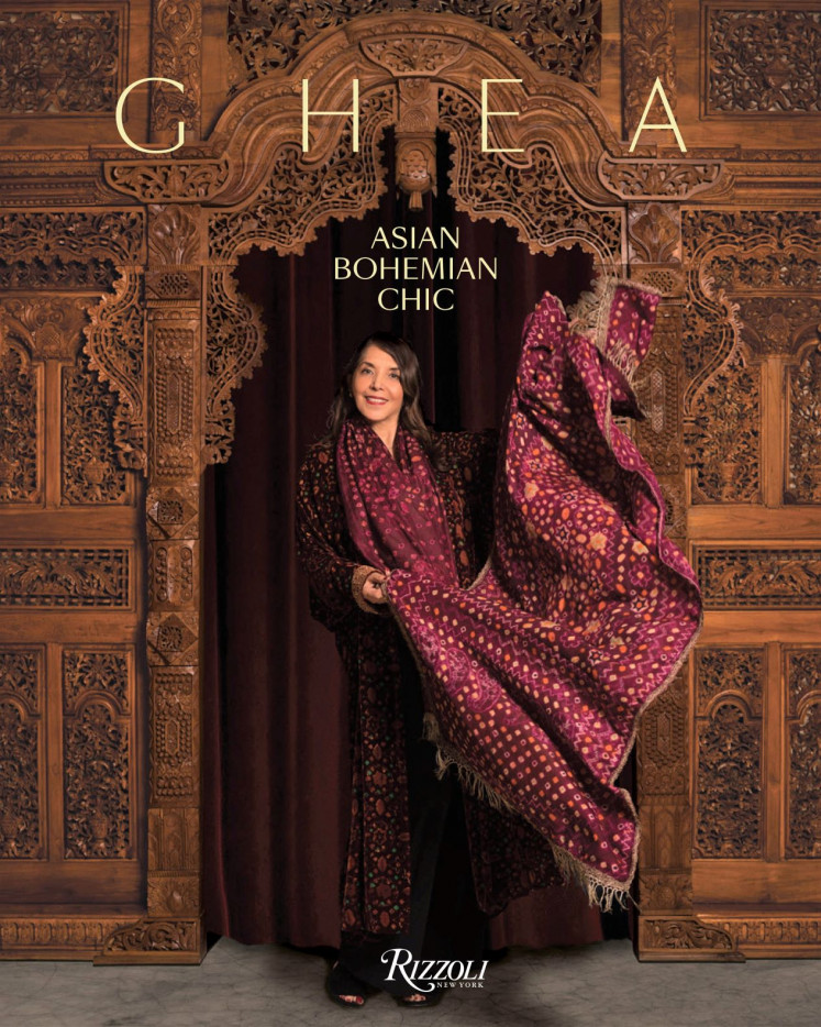 Milestone: Designer Ghea Panggabean's book 'Asian Bohemian Chic – Indonesian Heritage Becomes Fashion' is a two-year project celebrating 40 years of being in the Indonesian fashion industry.