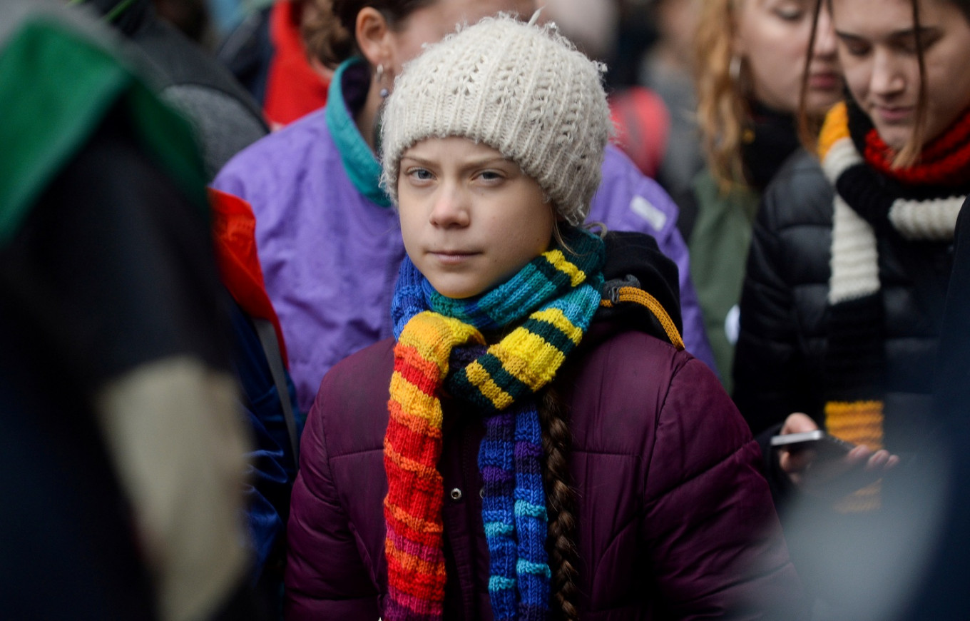 Climate activist Thunberg hits back at Trump over anger management taunt