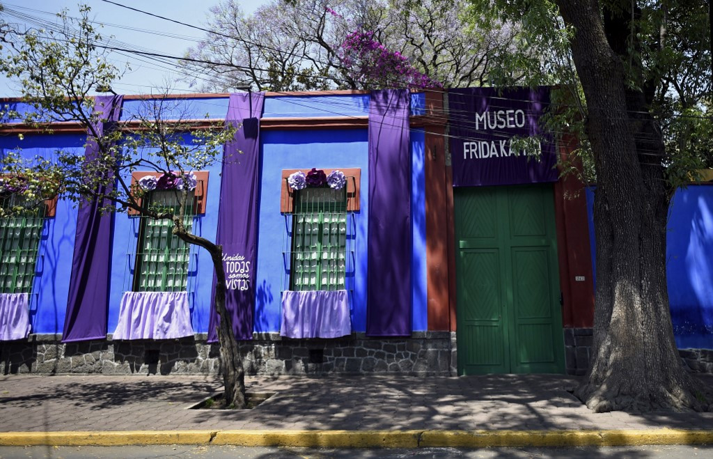 In Frida Kahlo's old home, Day of the Dead 'offering' honors artists felled by pandemics