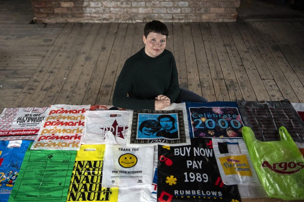 Glasgow artist launches plastic bag museum