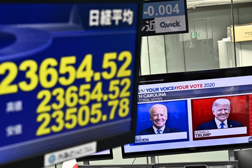 Asian markets rally after Biden unveils roads and bridges plan