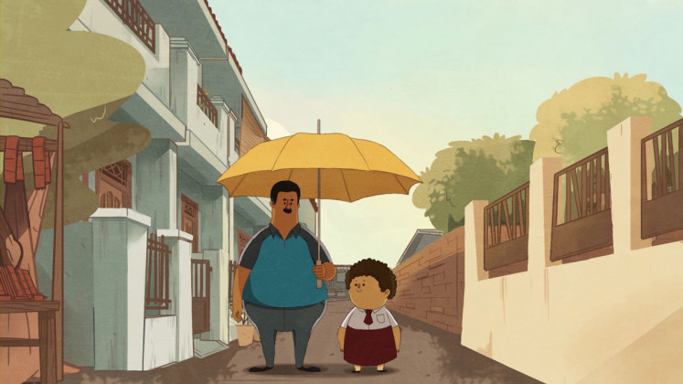 Illustrated criticism: Animation may serve as powerful medium for conveying emotional weight of social ills, as filmmaker M. Alfath Syahalam demonstrates in his 2018 animated documentary short film, 'Marzuki'.