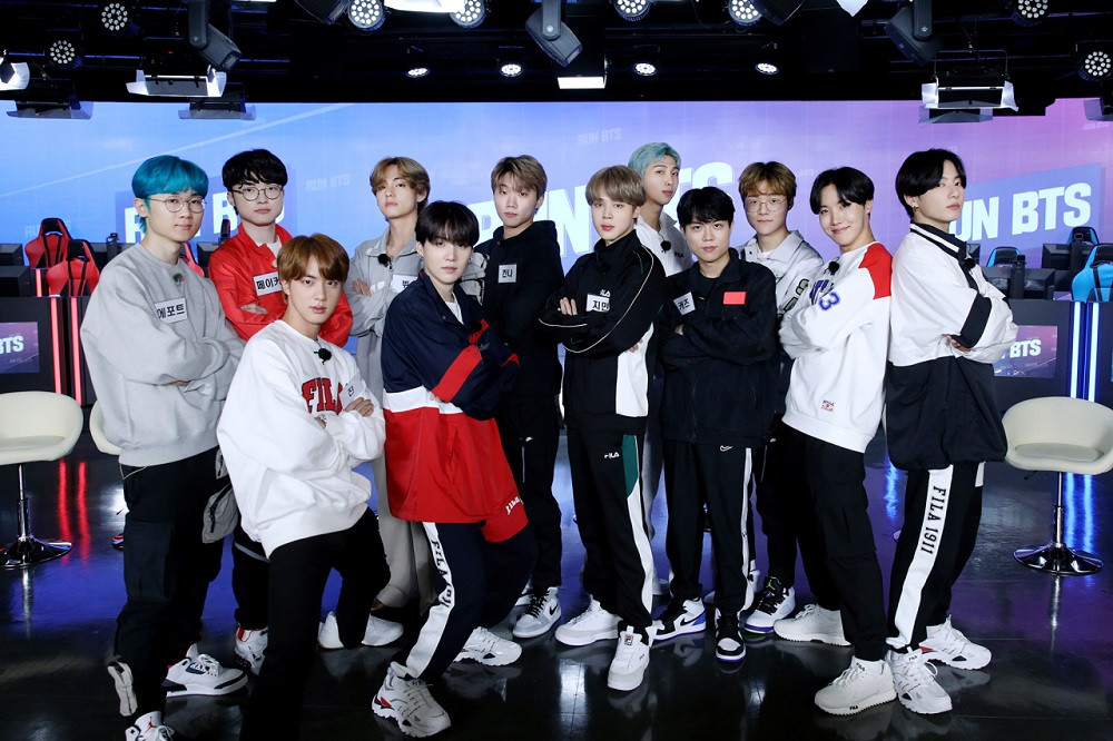 T1 meets BTS on 'Run BTS' - Entertainment - The Jakarta Post