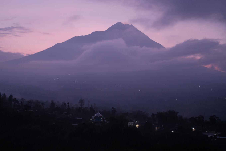 As Merapi rumbles, Yogyakarta youth take comfort in local wisdom