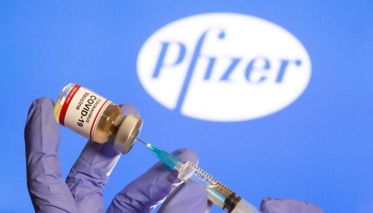 Pfizer Vaccine Trial Success Signals Breakthrough In Pandemic Battle World The Jakarta Post