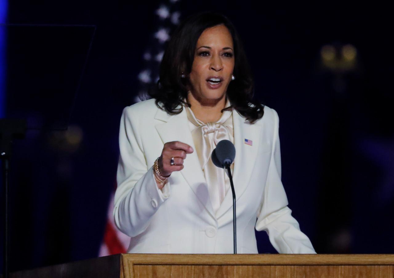 'Kamala represents the future': US women, minorities celebrate vice president-elect