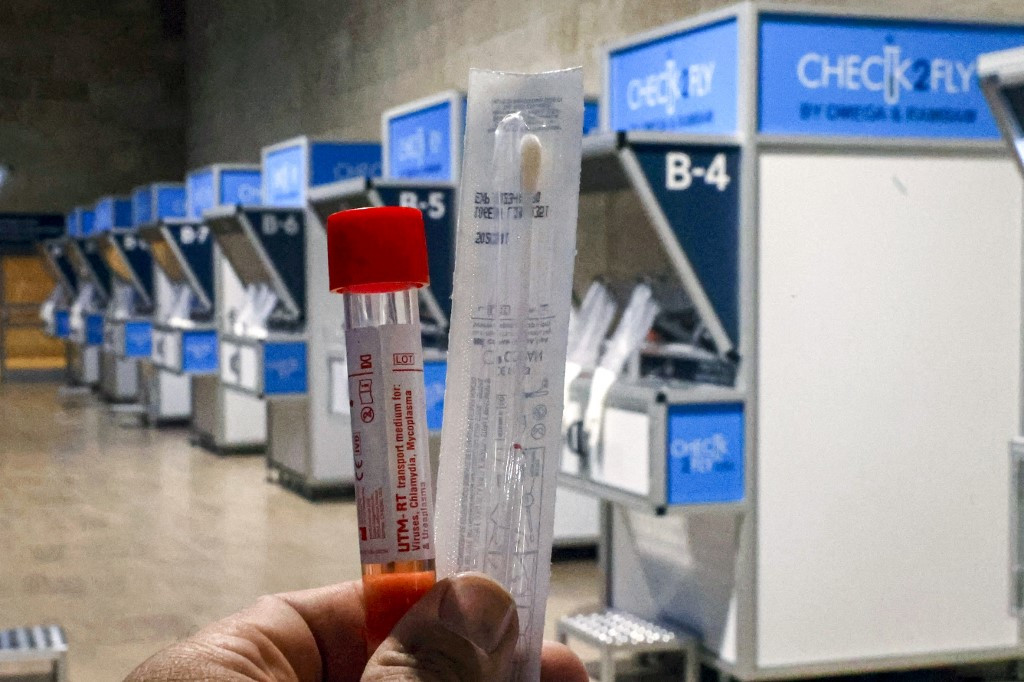 Israel opens rapid virus testing at airport