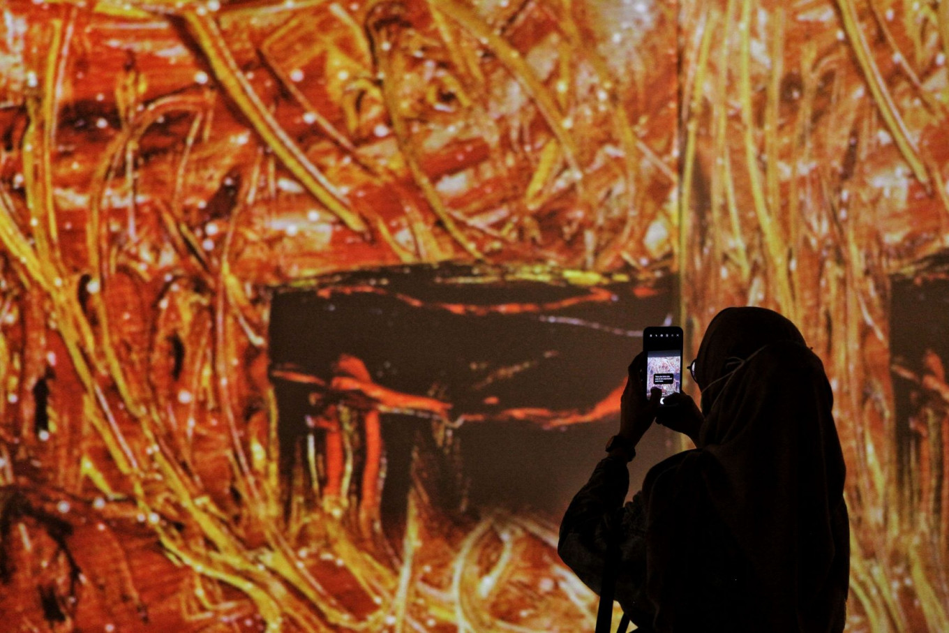 National gallery brings Affandi's paintings to life in immersive spectacle