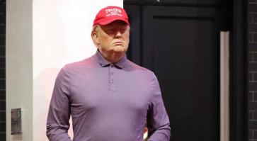 Madame Tussauds transforms Trump into golfer