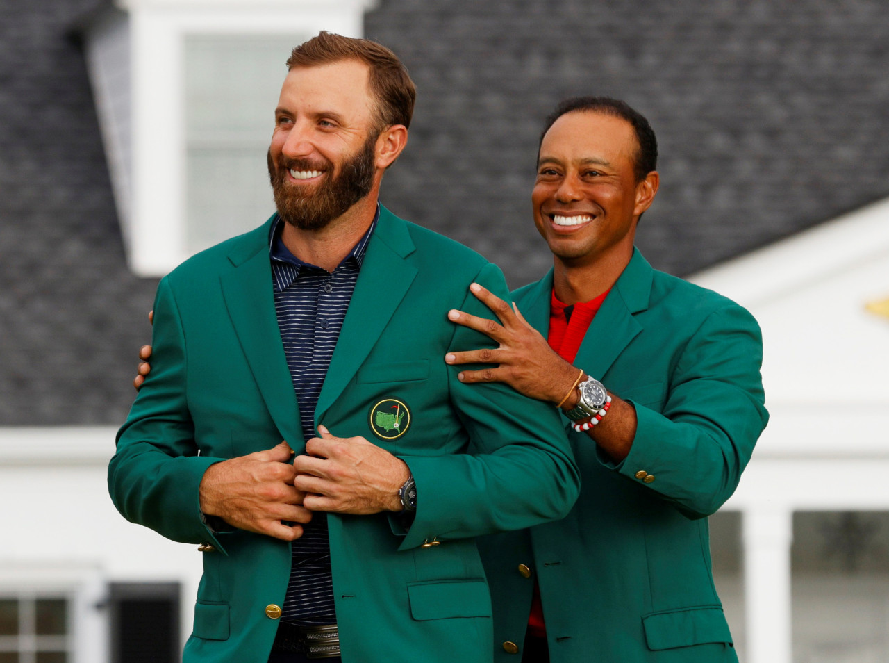 Johnson finally wins Masters with record low score