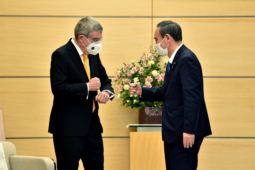 IOC's Bach 'very confident' Tokyo Olympics will have fans