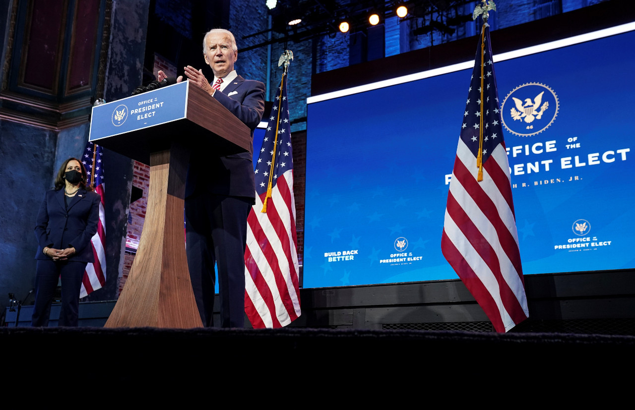 If Trump doesn't cooperate, there's risk of more deaths, says Biden