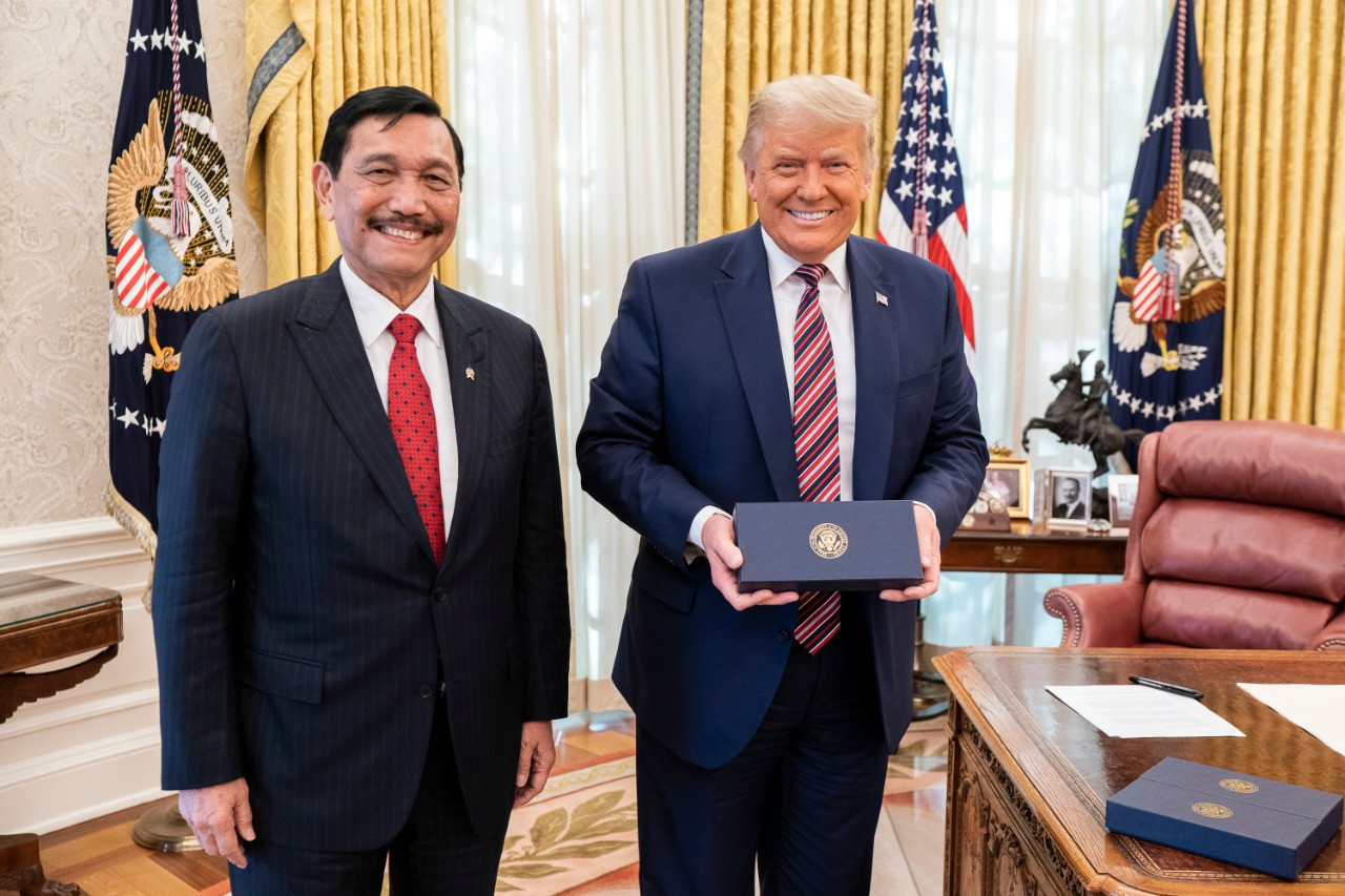 Luhut waxes lyrical about White House visit, Jared Kushner in online post