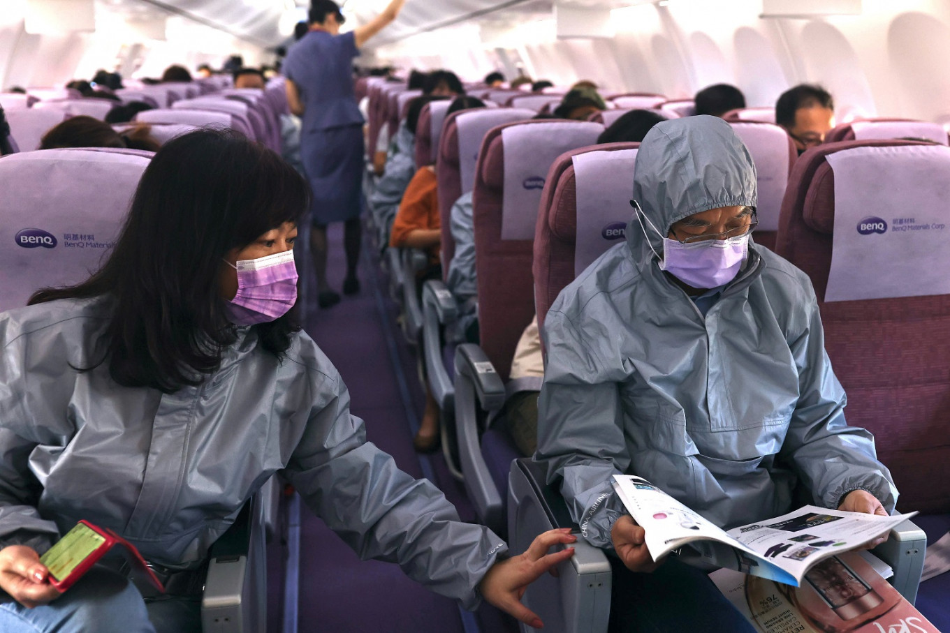 Taiwan firm eyes wider market for its protective air travel gear