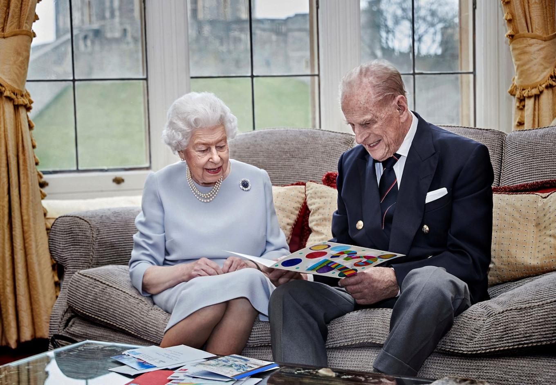 UK's Queen Elizabeth and husband Philip celebrate 73rd wedding anniversary