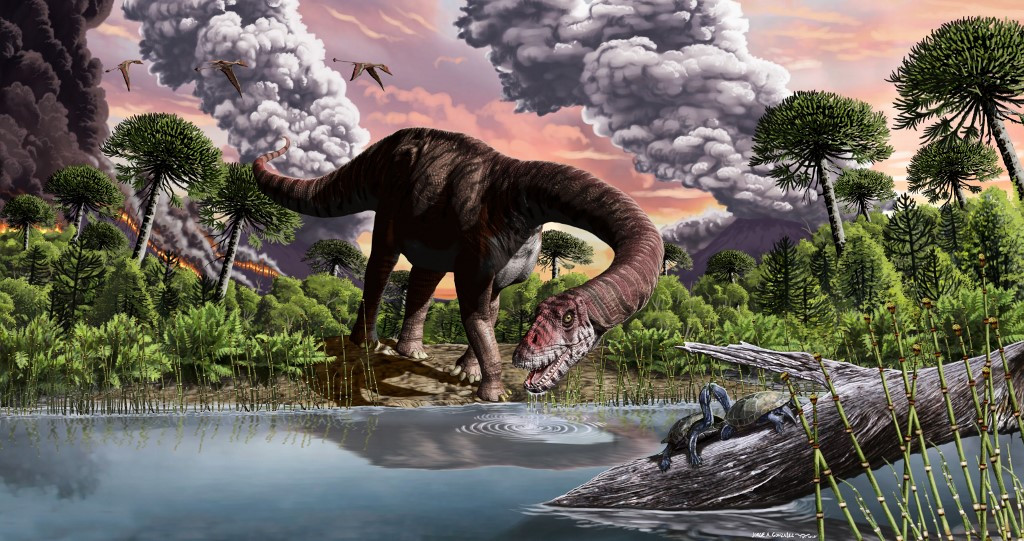 Climate change devastated dinosaurs not once, but twice