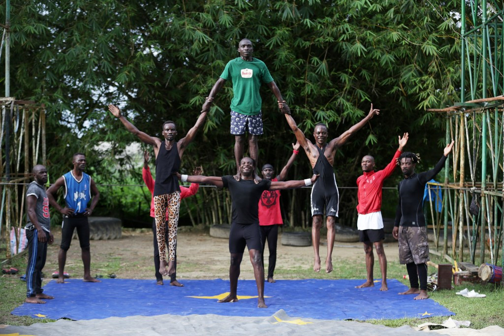 Glory days gone, Gabon's only circus fights for survival
