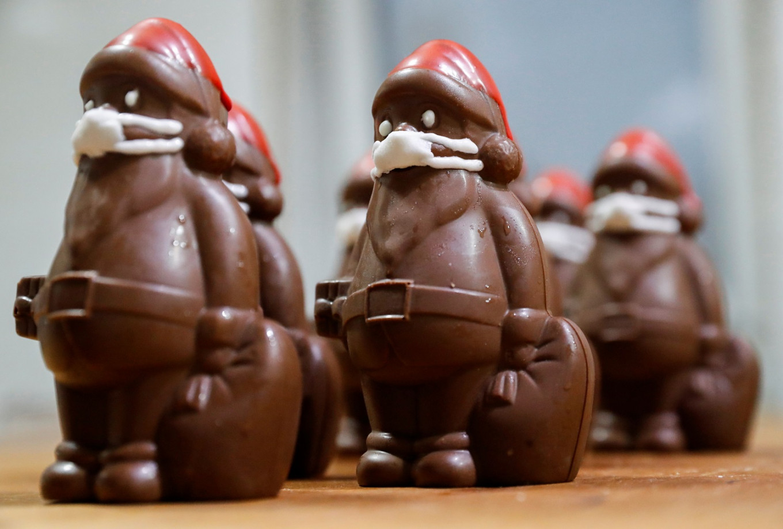 Chocolate Santas in marzipan masks: A coronavirus Christmas in Hungary