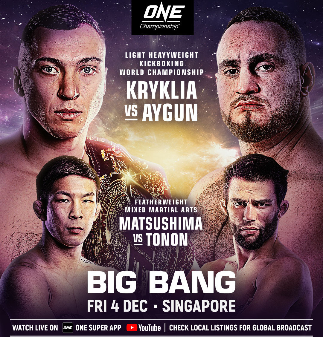 ONE Championship sets big stages for top MMA athletes in two December bouts