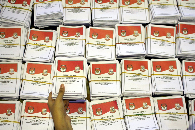 Former mayor Ramdhan Pomanto leads Makassar election