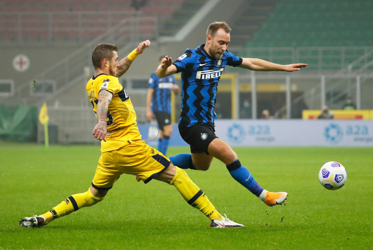 Eriksen sets for Inter Milan exit as dream Italy move turns sour