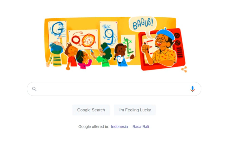 Google Doodle celebrates late artist Tino Sidin's birthday