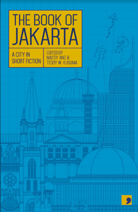 The cover of 'The Book of Jakarta: A City in Short Fiction'.