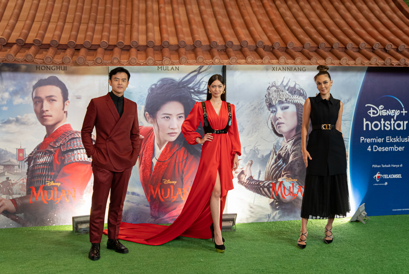 Indonesian performers share experiences as voice actors of Disney's 'Mulan'