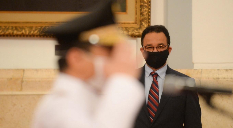 Jakarta Governor Anies Baswedan has COVID-19