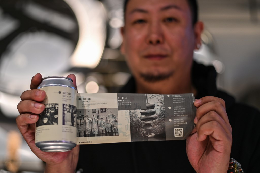 Can-do attitude: Wuhan virus lockdown captured in craft beer