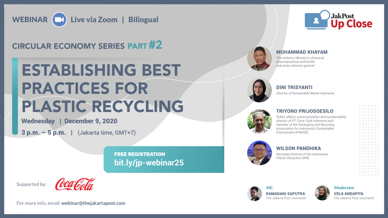 Creating industrial ecosystem for plastic recycling